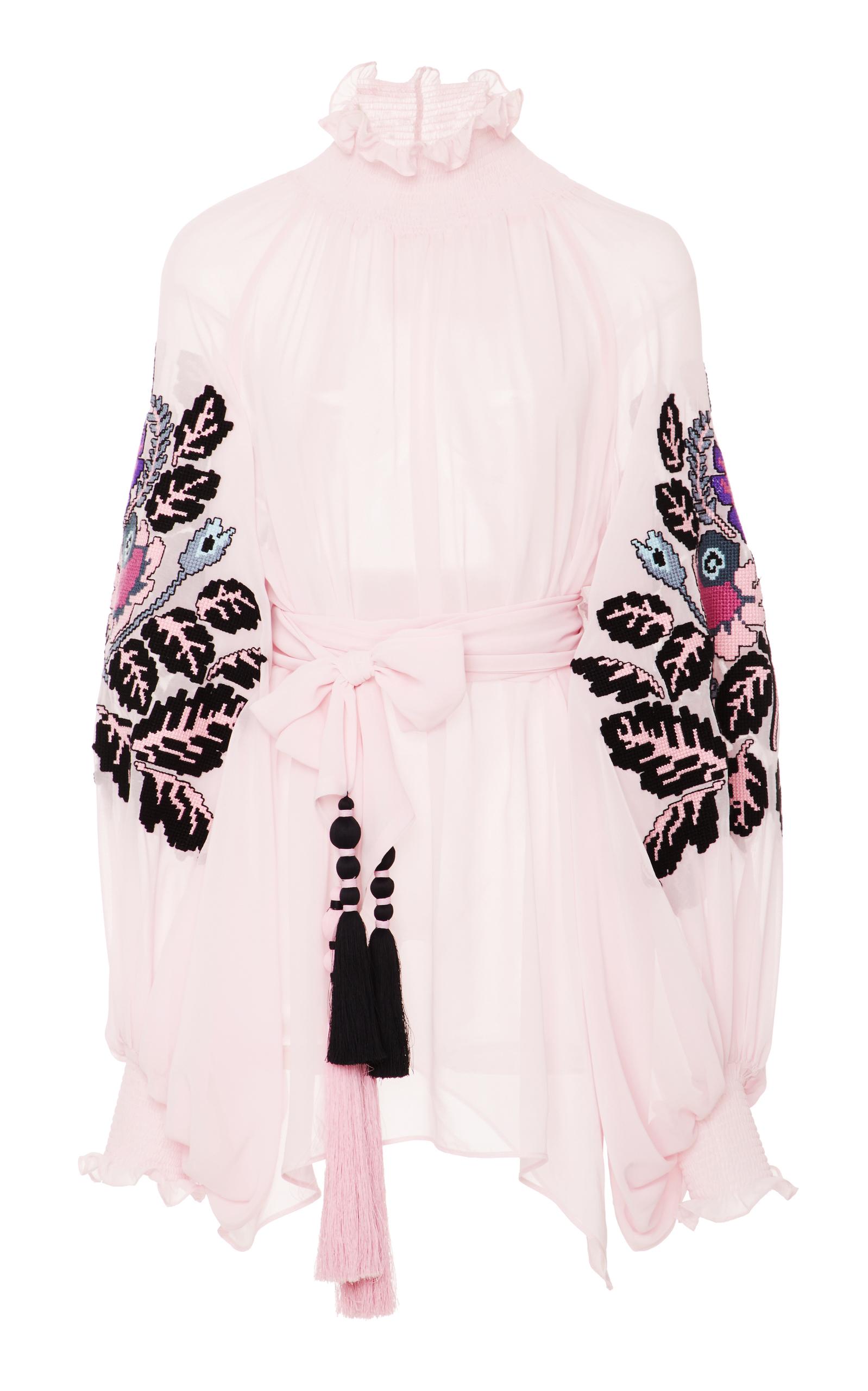 Edentree Huge blouse - Pink & Purple Yuliya Magdych Pre Order Cheap Online sDtQSp9