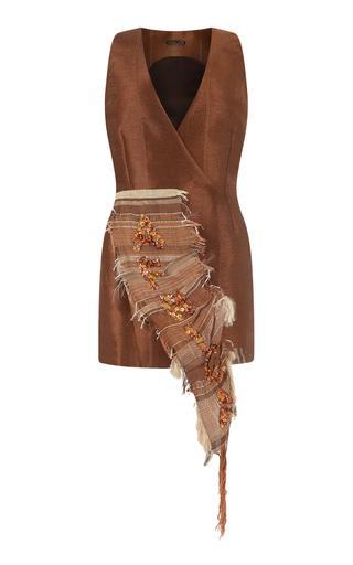 Medium onalaja brown afric dress