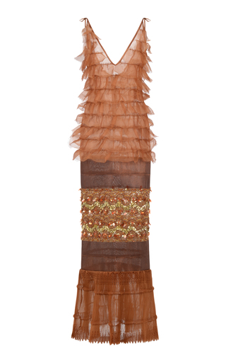 Medium onalaja brown idia dress