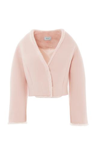 Medium esme vie pink visone mink fur tulip jacket