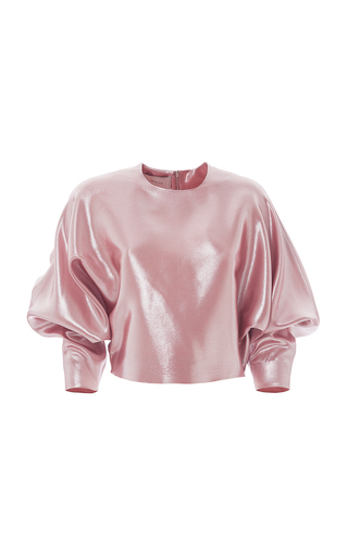 Medium esme vie pink fresia blouse