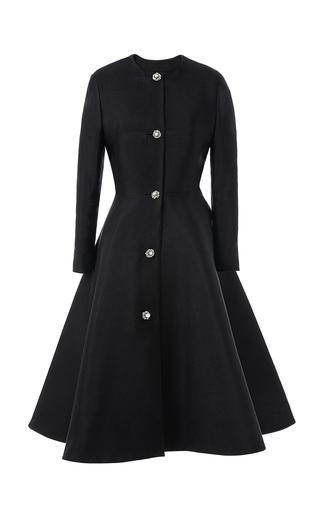 Medium esme vie black flower pearl coat