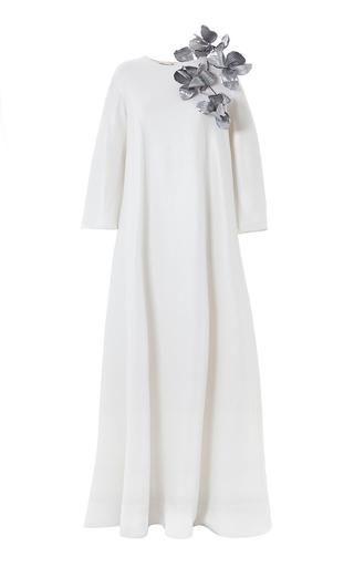 Medium esme vie white bouganville gown