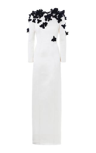 Medium esme vie white ebano flower gown