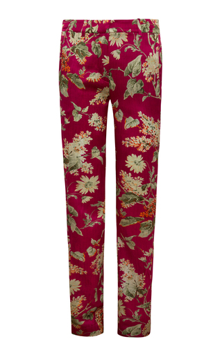 Medium adriana iglesias red olbia pants