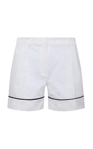 Medium adriana iglesias white jacquard shorts