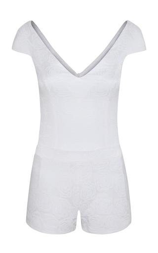 Medium adriana iglesias white ursula bodysuit