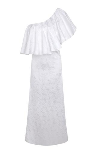 Medium adriana iglesias white jane long dress