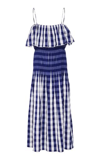 Medium patricia padron blue vega dress