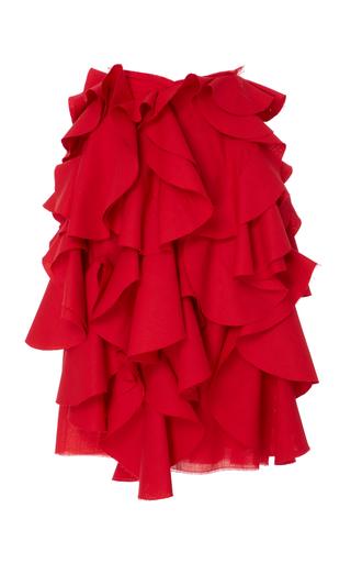 Medium patricia padron red polaris skirt