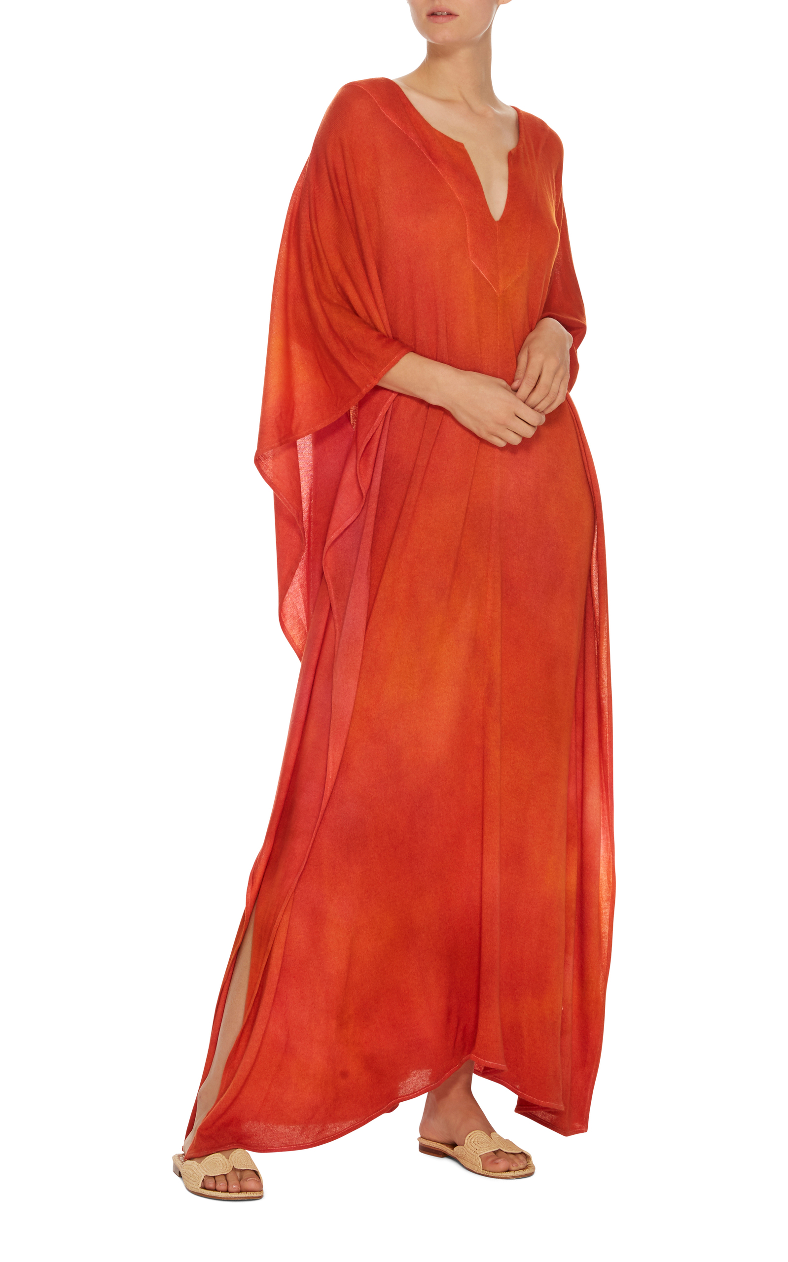 MO Exclusive Favorite Dyed Caftan The Elder Statesman w59zCH