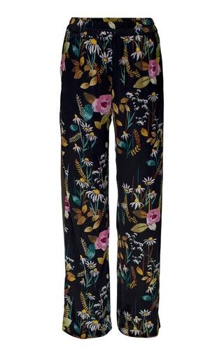 Medium baum und pferdgarten print neala relaxed fit trousers