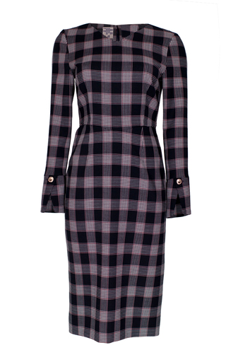 Medium baum und pferdgarten plaid aamena pencil dress