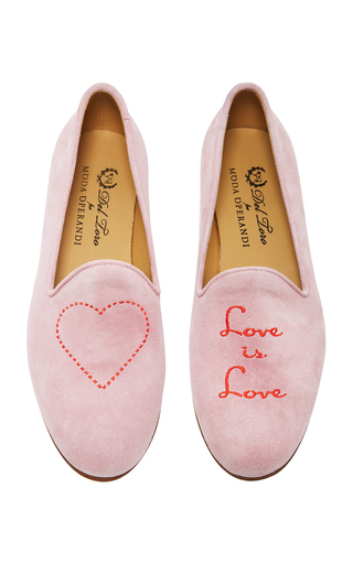 Medium del toro pink m o exclusive love is love slipper
