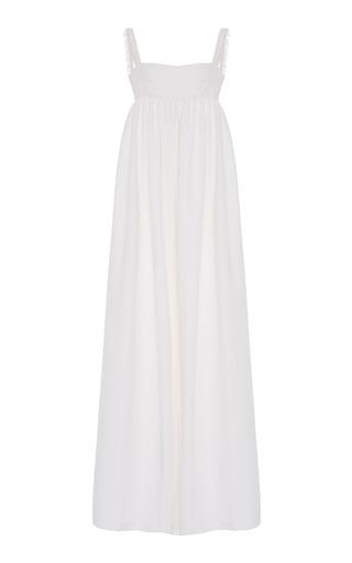 Medium lein white valerie june fringe dress