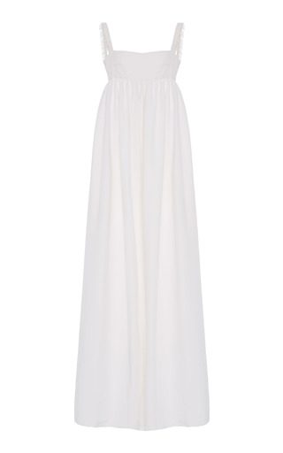 Medium lein white valerie june fringe dress
