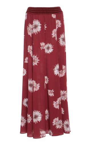 Medium sissa burgundy agnes relaxed maxi skirt