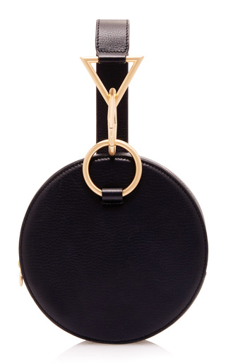 Medium tara zadeh black azar clutch bag