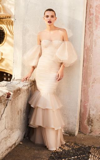 Medium johanna ortiz neutral the te amare dress