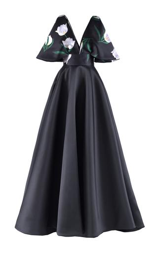 Medium mark bumgarner black yanna gown