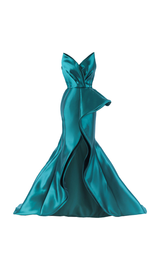Medium mark bumgarner green joanna gown