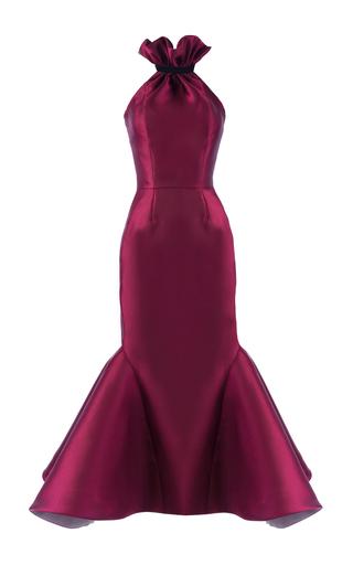 Medium mark bumgarner burgundy celine dress