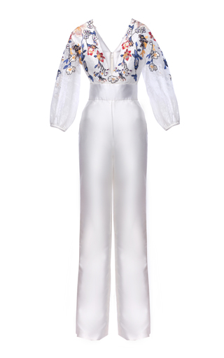 Medium mark bumgarner white kelly jumpsuit