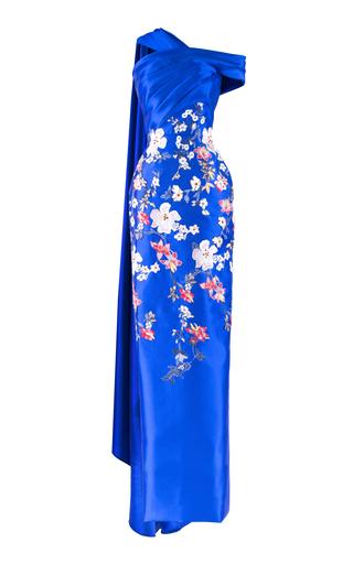 Medium mark bumgarner blue ava gown