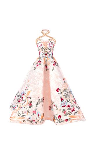 Medium mark bumgarner neutral fleur gown