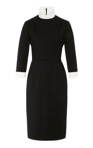 Medium maison di prima black catalina sheath dress