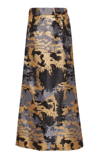 Medium maison di prima metallic valentina metallic skirt