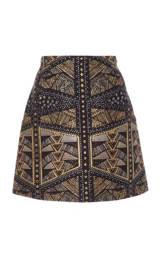 Medium maison di prima multi minnie jacquard skirt