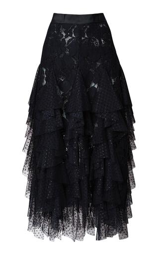 Medium romance was born black fantasy godet skirt