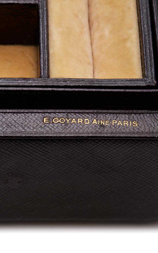 Goyard Travel Jewelry Box by Mantiques Modern Moda Operandi