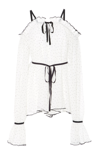 Medium alice mccall white sweet caroline off the shoulder playsuit