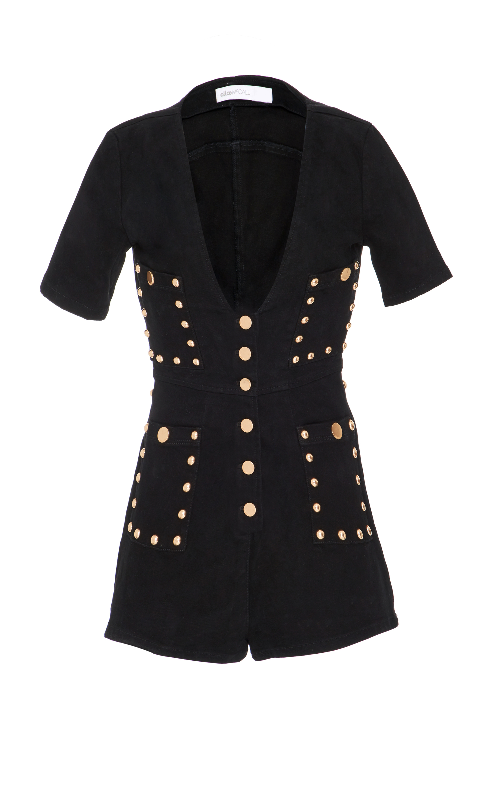 613a4b4b46 All Day All Night Button Playsuit by Alice McCall