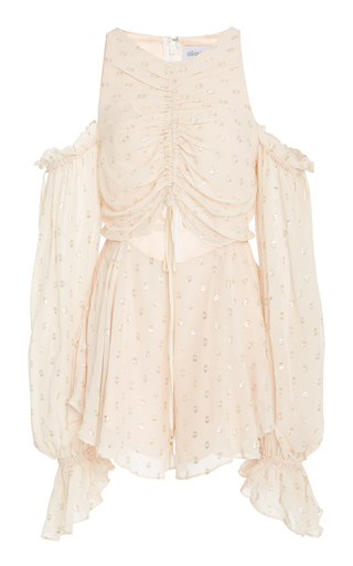 Medium alice mccall pink do it again cutout playsuit