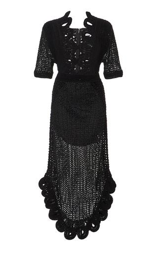Medium alice mccall black la la lady crochet loop dress