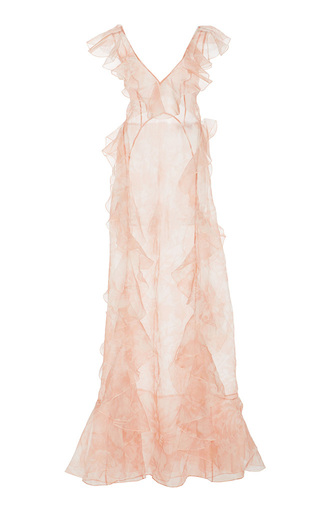 Medium alice mccall pink oh my goddess voulant dress