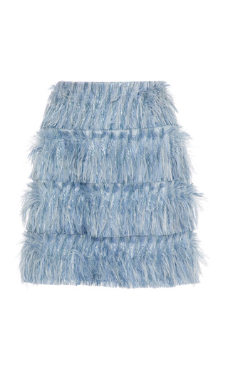 Medium alice mccall blue young at heart feather skirt