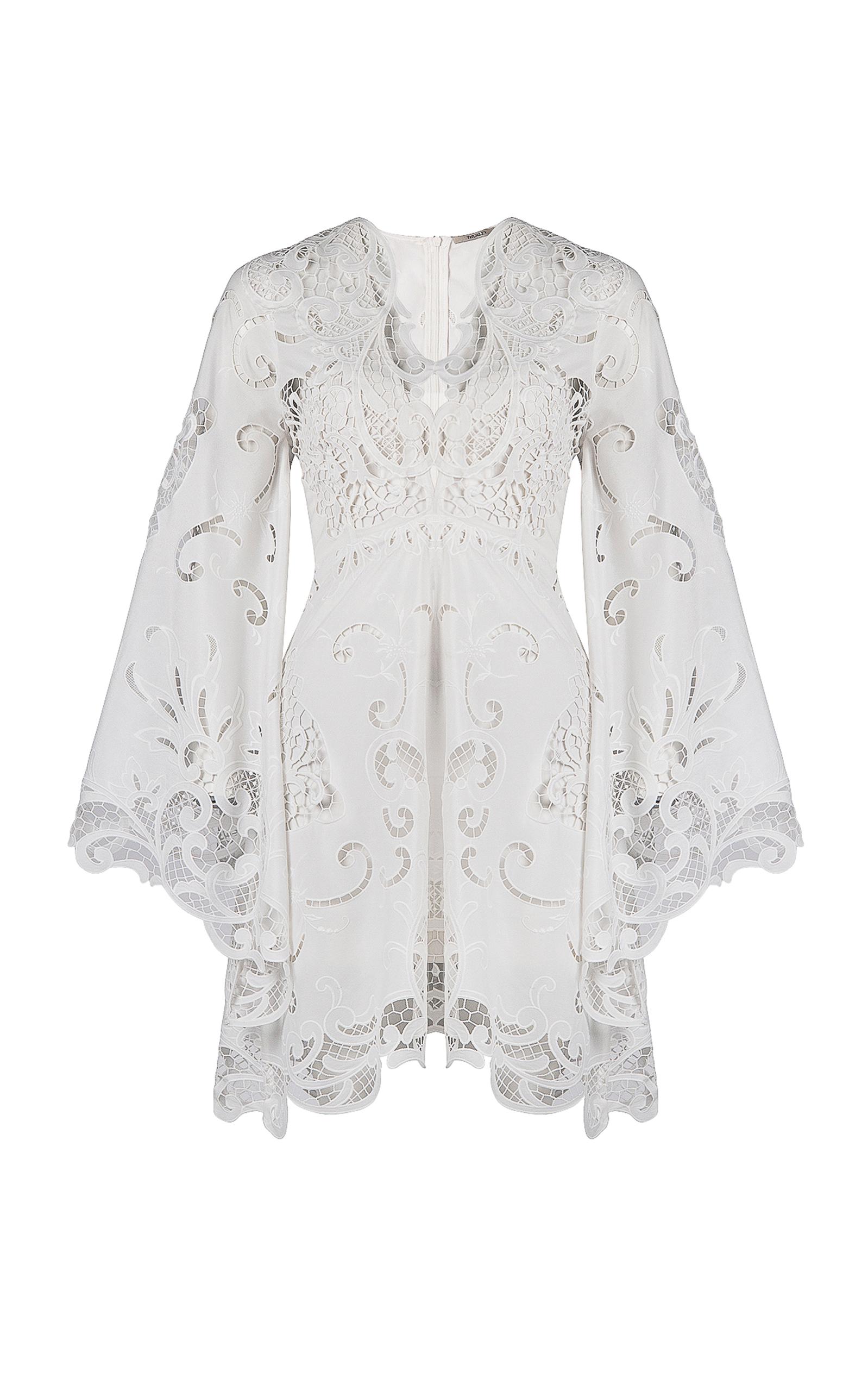 c2f1e18b7 Belle Embroidered Bell Sleeve Dress by Thurley   Moda Operandi