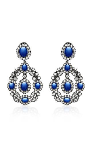 ANABELA CHAN | Anabela Chan Exclusive Treasure Sapphire Earrings | Goxip