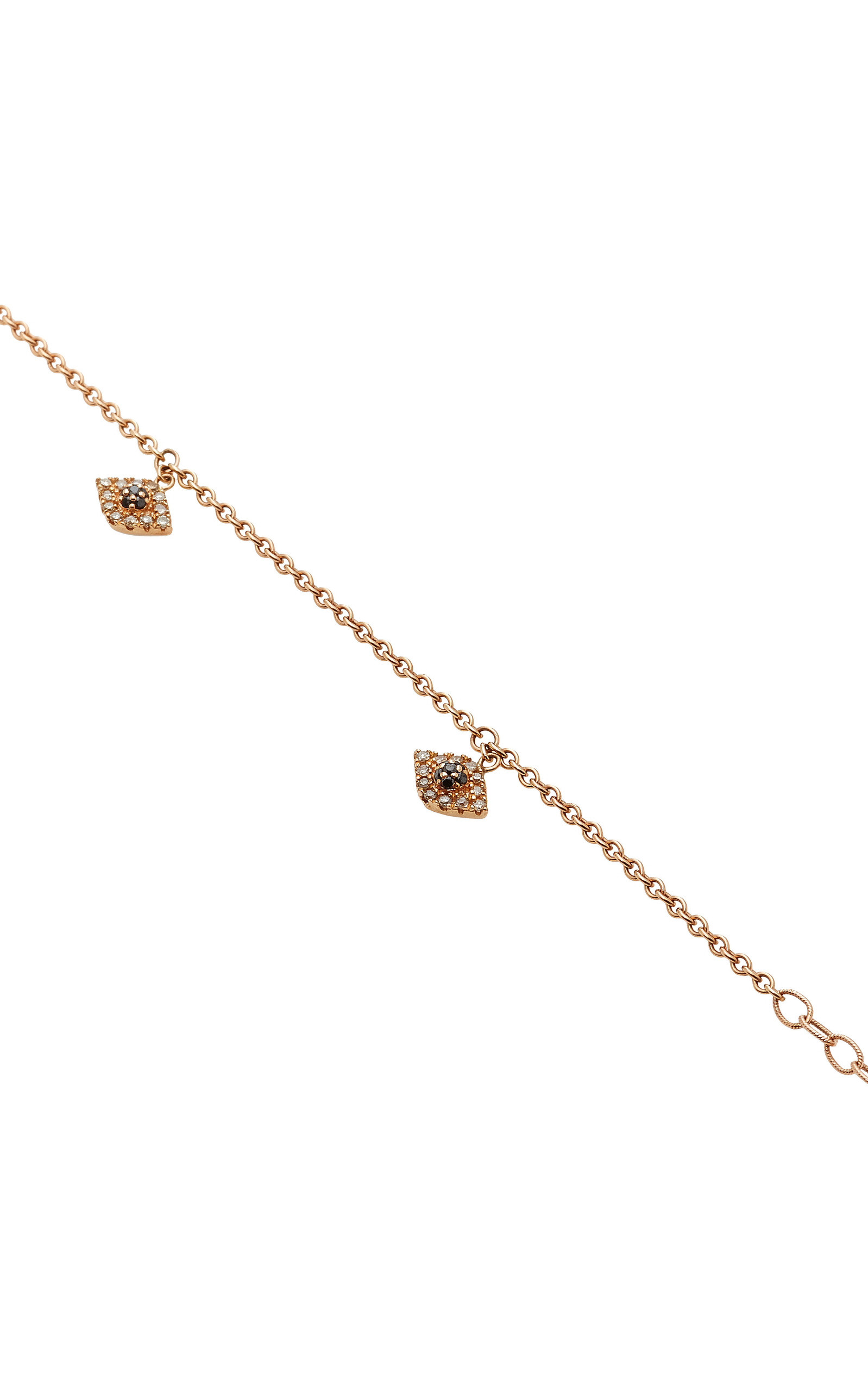 leaf pave sweet rg jacquie aiche products anklet