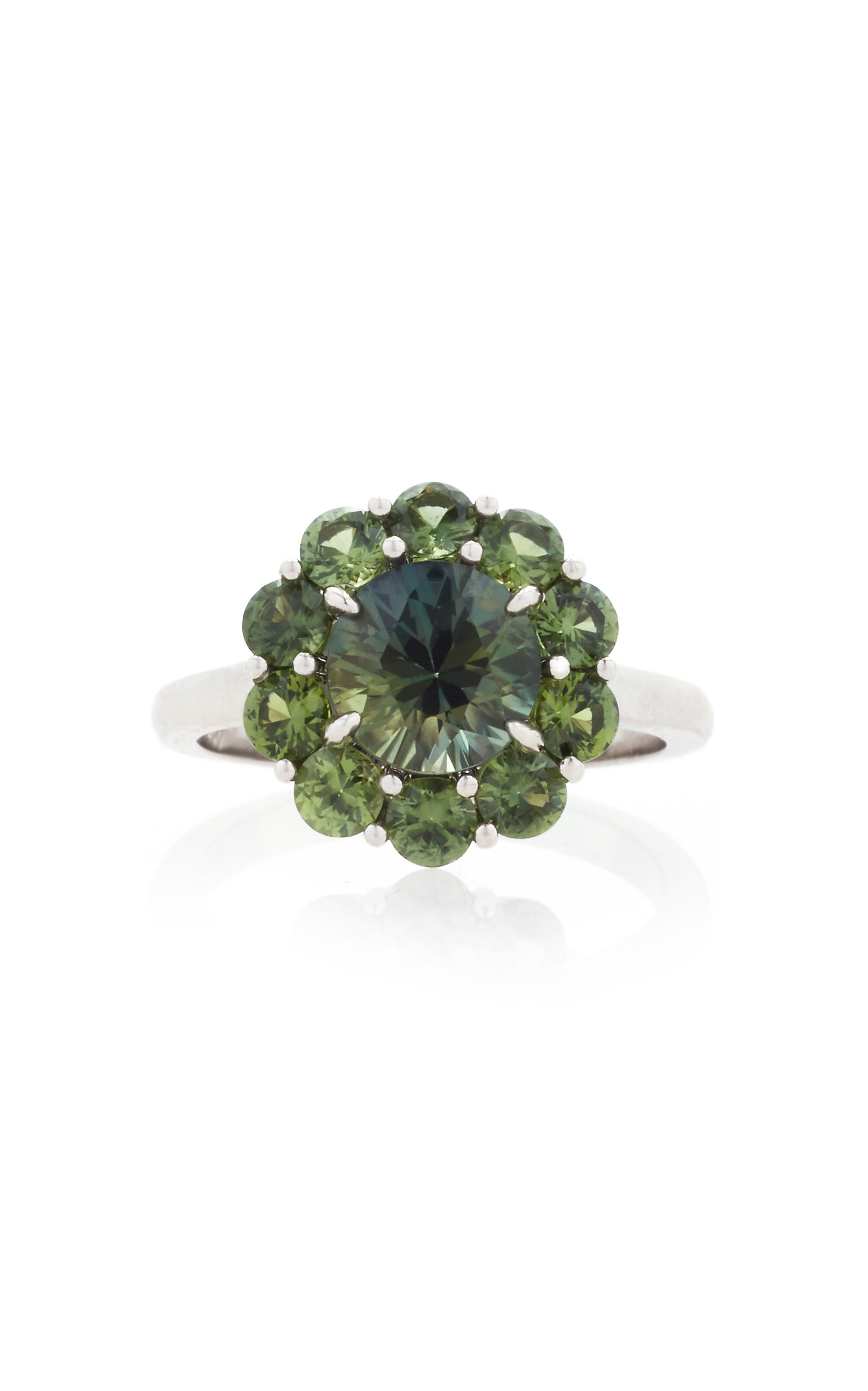 pin montana ring jewelry green sapphire halo pinterest rings