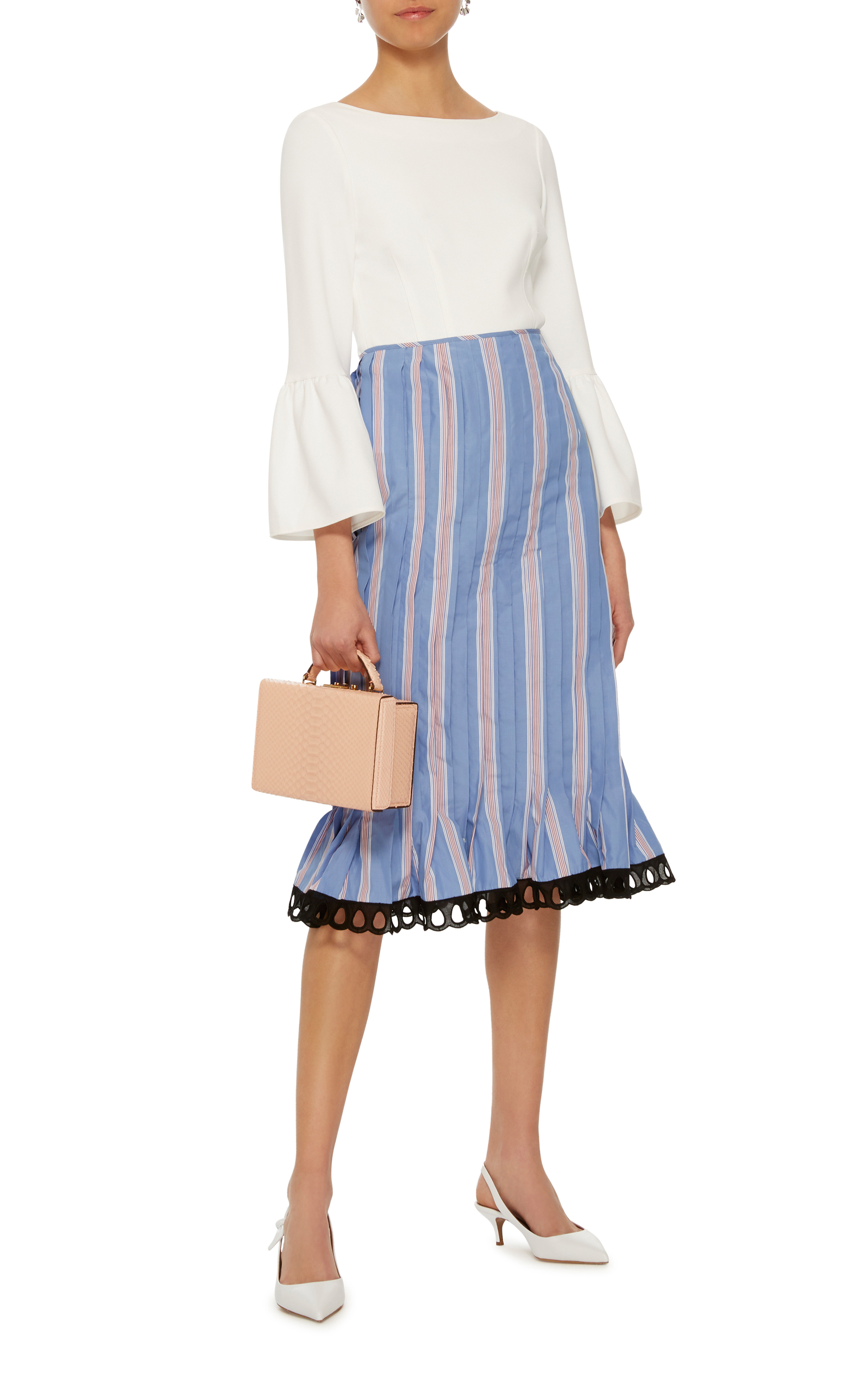 High Waist Striped Skirt Marni Limited Edition Cheap Online Free Shipping Marketable Outlet Cheap Online geyjqiO9Mb