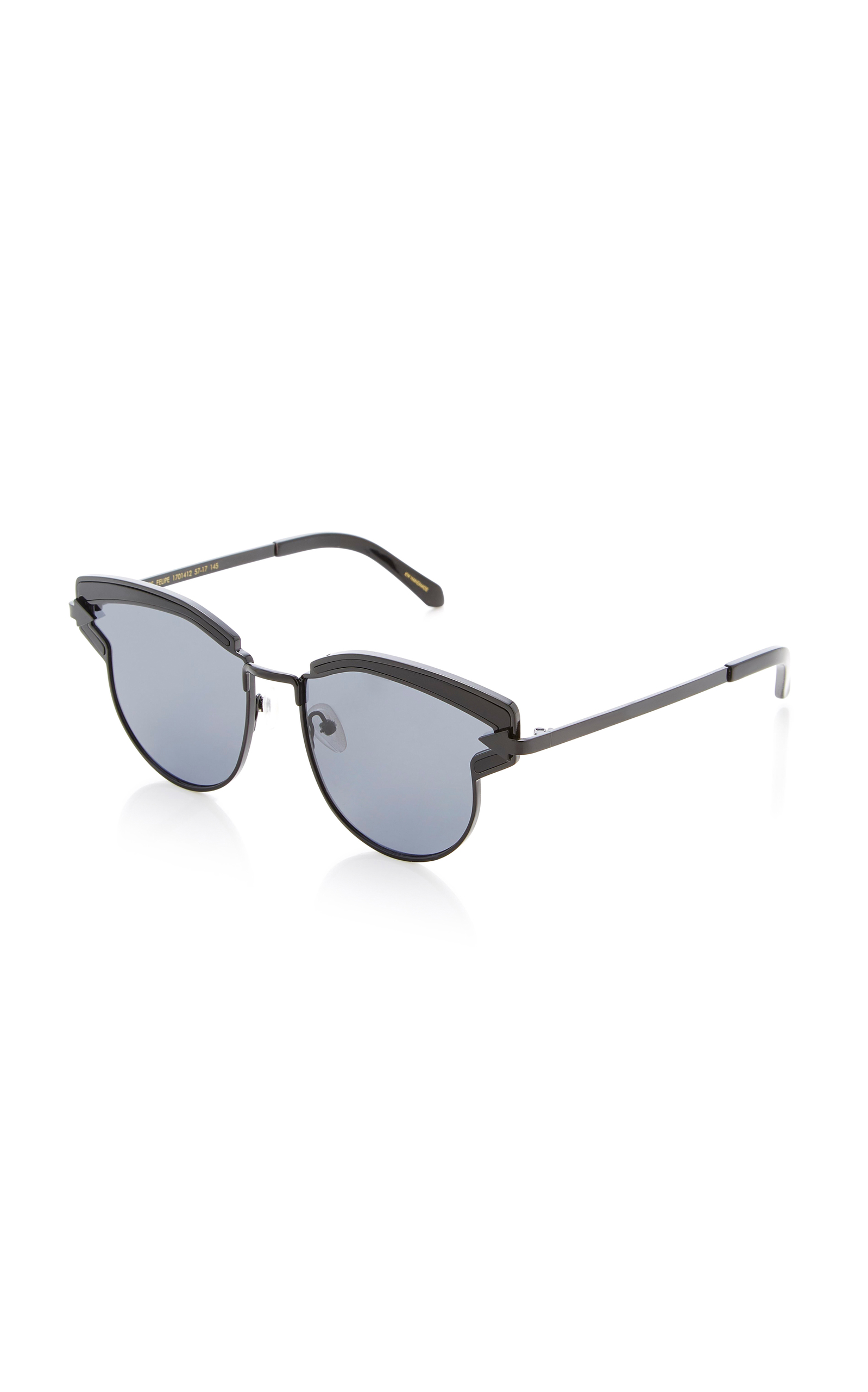 8f5d2a0ddc1e Karen WalkerSuperstar Felipe Cat-Eye Acetate Sunglasses. CLOSE. Loading.  Loading