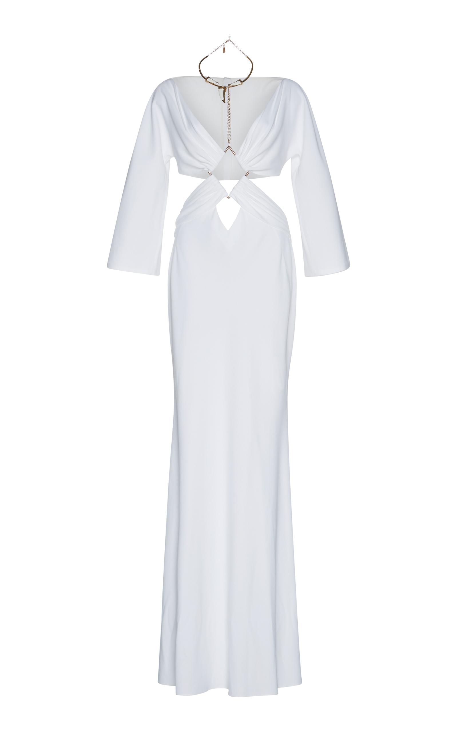 Cut Out Gown by Roberto Cavalli | Moda Operandi