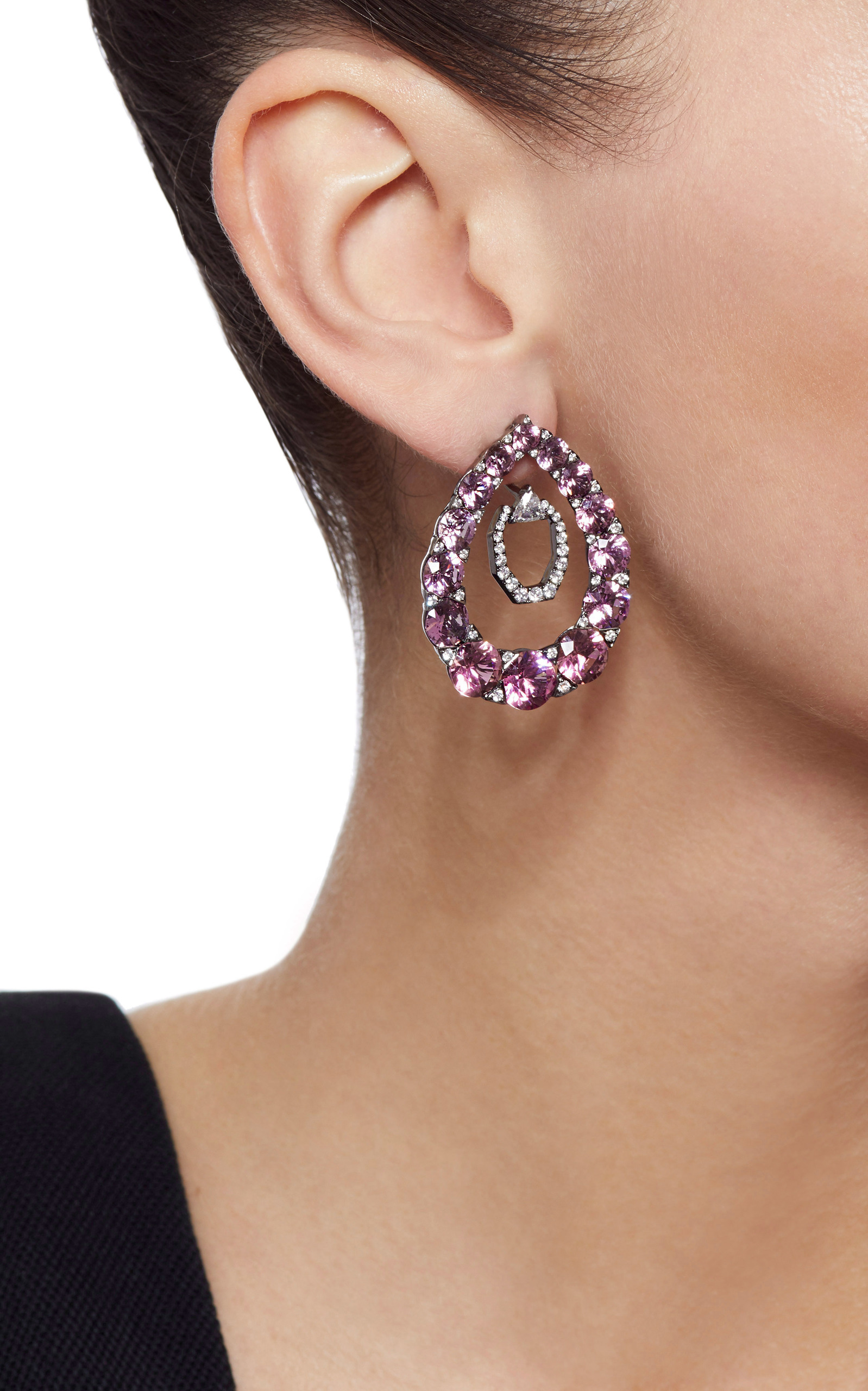 earrings blue san fine francisco jewelry tura products usa pale ca sugden spinel handmade in e