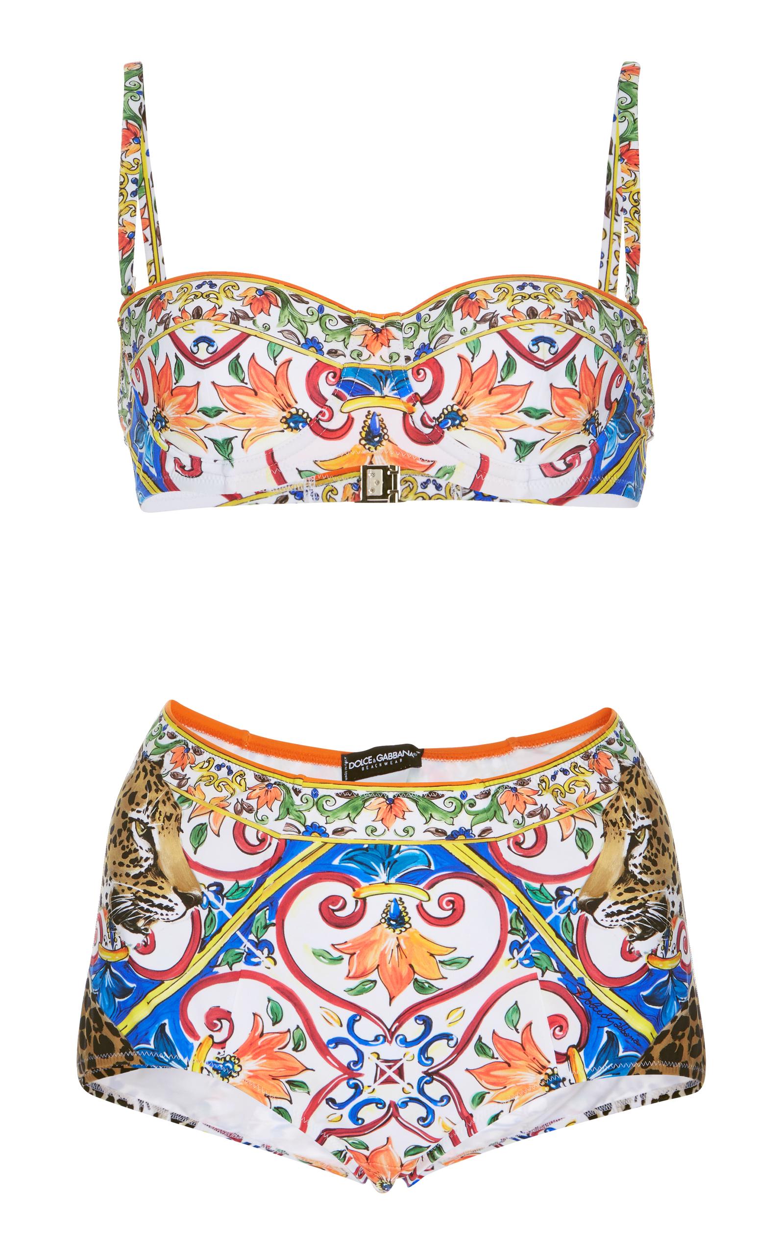 6473a1b062 Printed Bikini Set by Dolce   Gabbana