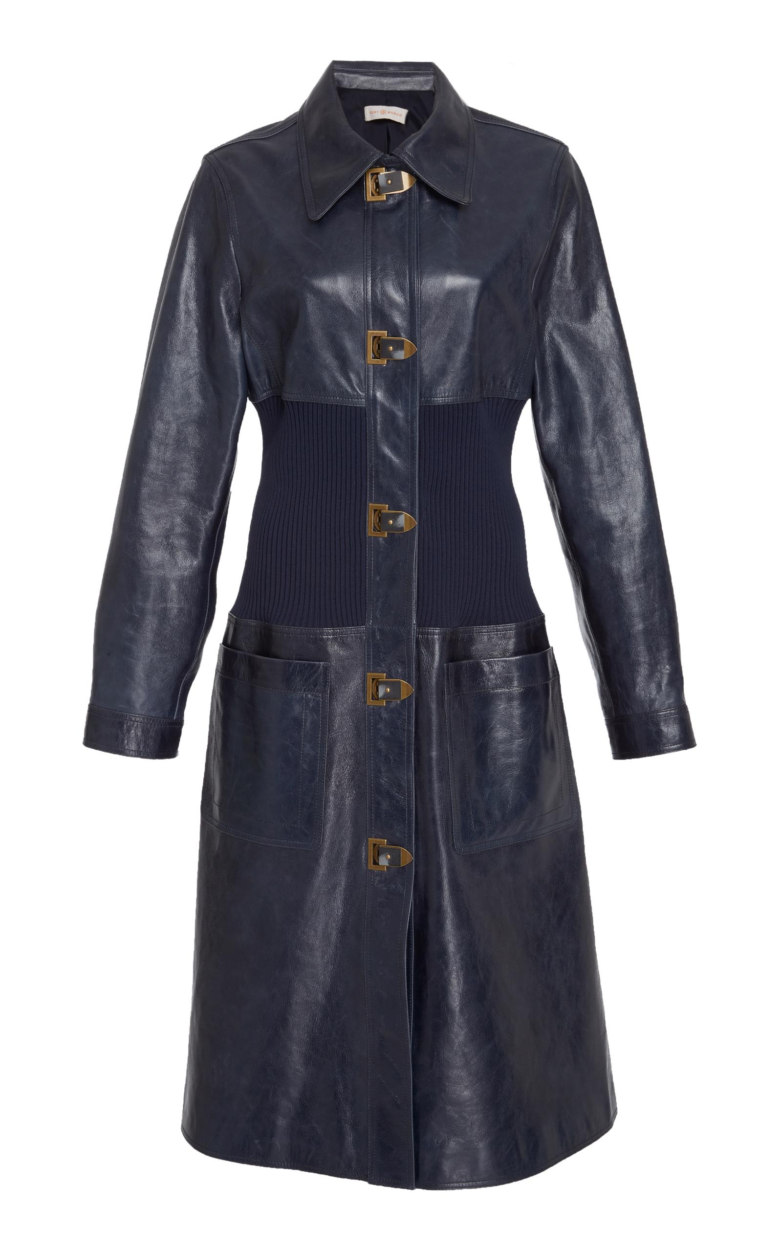 927a1d633a Tory BurchBeth Leather Coat. CLOSE. Loading